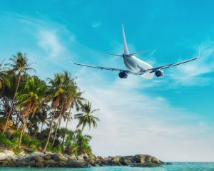 Urlaub mit Flugzeug